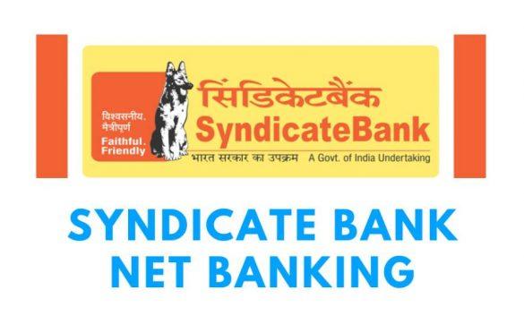 SYNDICATE INTERNET BANKING